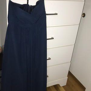Dresses & Skirts - Navy blue size 10 prom dress Marlene Joyce brand